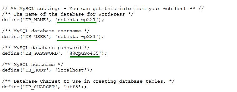 reset connection error wordpress