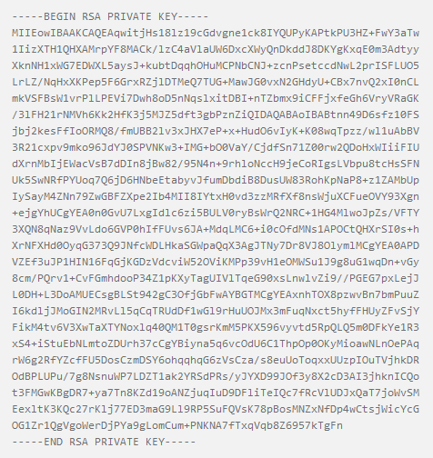 generate public private key pair online