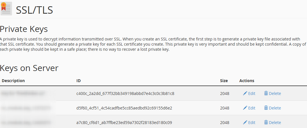 openssl generate rsa key pair and certificate