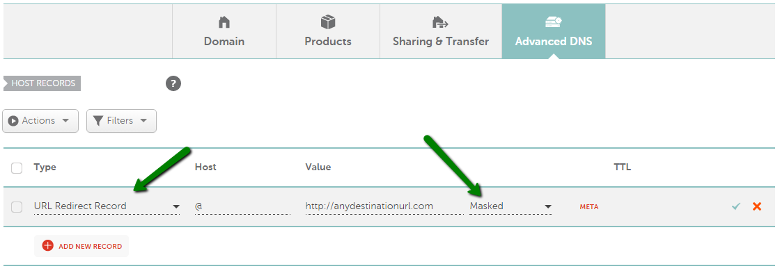 How can I set up URL Frame for my domain? - Domains - Namecheap com