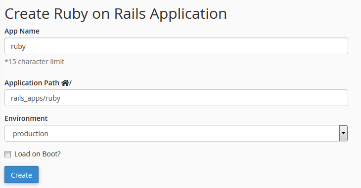 How to set up an environment for the Ruby on Rails