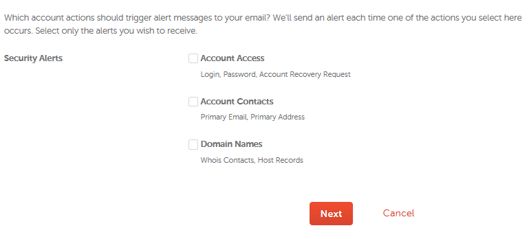 How can I adjust security settings for my account? - My