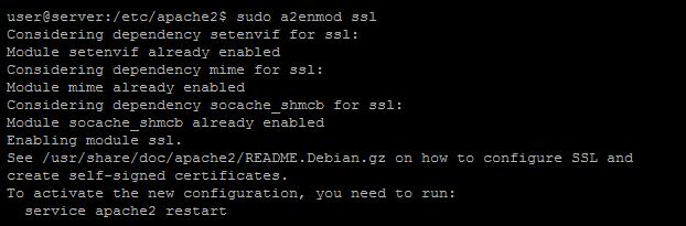 Invalid command 'SSLEngine' error on Apache - SSL