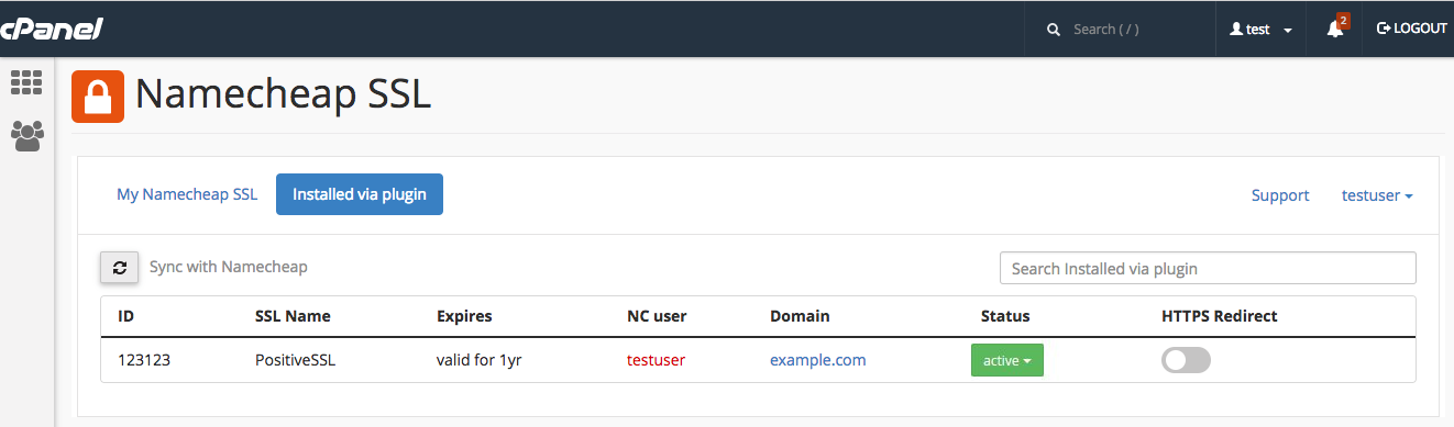 How do I install an SSL using your cPanel plugin? - SSL Certificates