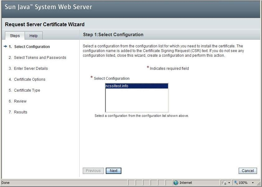 Generating A Csr On Sun Java System Web Server 7x Namecheap