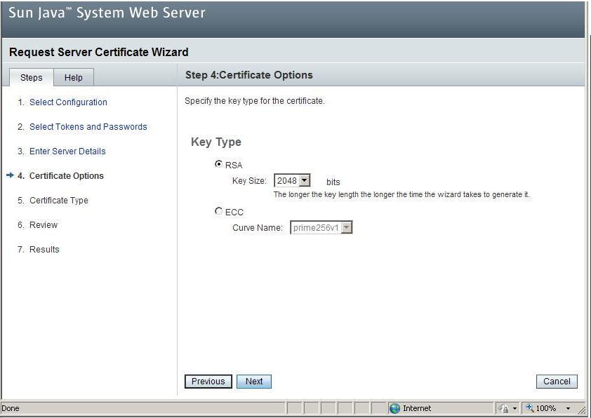 Generating A Csr On Sun Java System Web Server 7x Namecheap