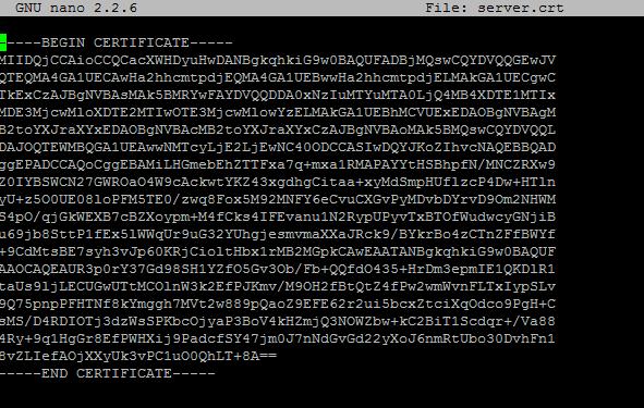 Tomcat installation error: Input not an X.509 certificate