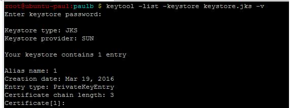 Tomcat installation error: keytool error: java langException