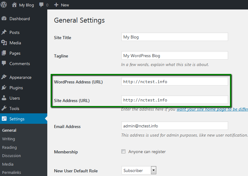 In case you do not have access to the WordPress admin dashboard, follow  these steps to change the URLs via the database: