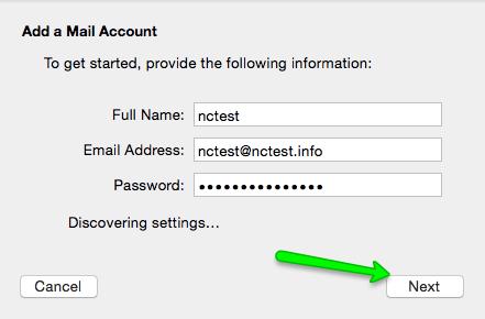 657bb4f386d4 Nella finestra Mail Server scegliete il protocollo POP o IMAP per il vostro  Account ed inserite i vostri dati (username - indirizzo email) > Avanti