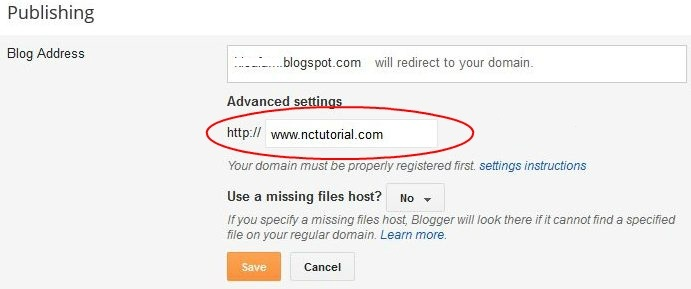 how to put domain into username