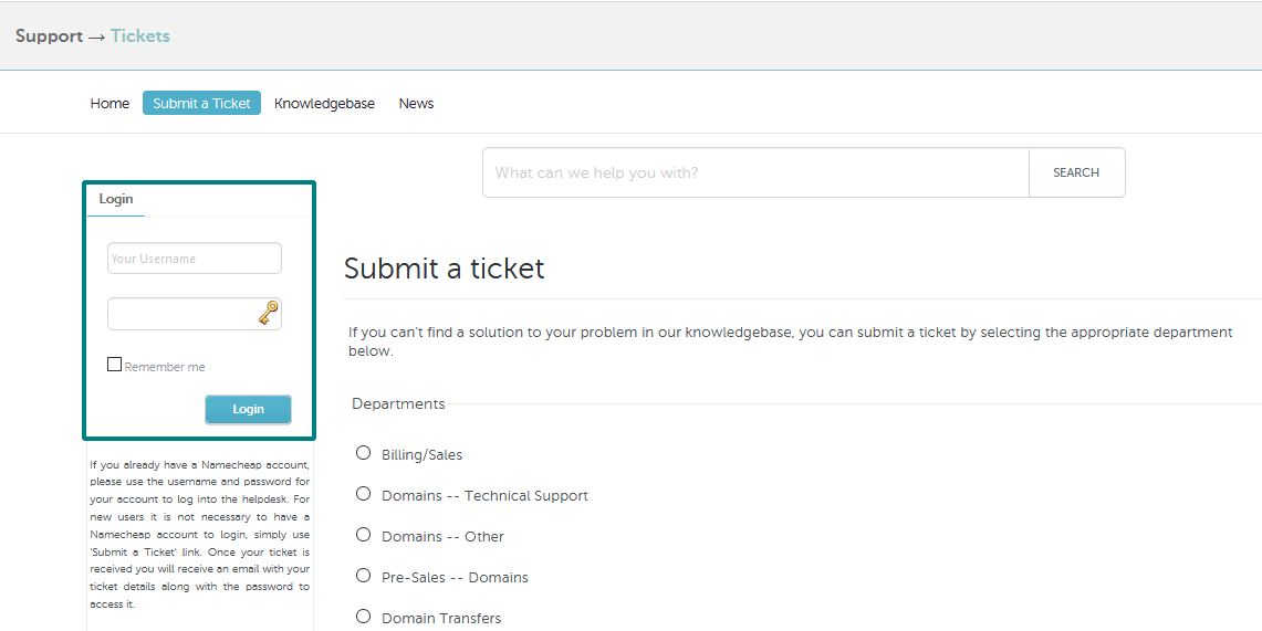 Bacloud Support: How do I check my Support ticket history? - General & Support