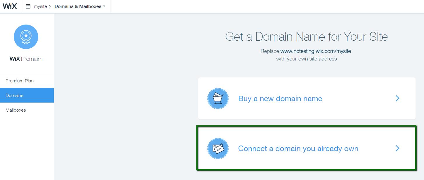 Wix.com Websites My Account
